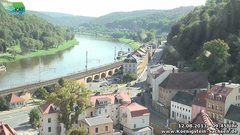 neue Webcam Königstein Kreisverkehr
