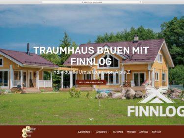 Finnlog Blockhaus – Relaunch