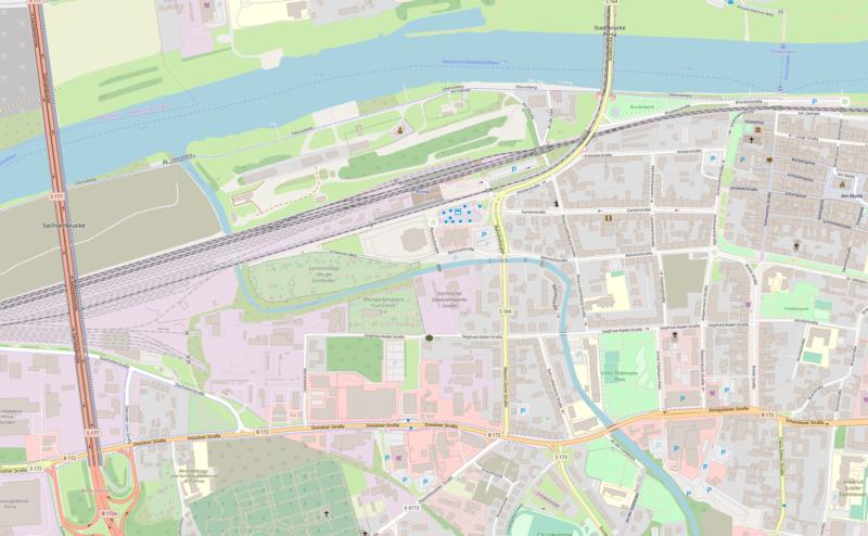 iTanum Internetagentur Standort in Pirna Karte